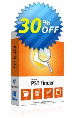 SysTools PST Finder - Business License  Coupon discount SysTools coupon 36906. Promotion: