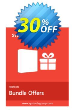 Bundle Offer - Outlook PST Finder + PST Merge + Split PST - Personal License  Coupon discount SysTools coupon 36906. Promotion:
