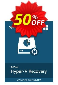 SysTools Hyper-V Recovery - Business  Coupon, discount SysTools coupon 36906. Promotion: