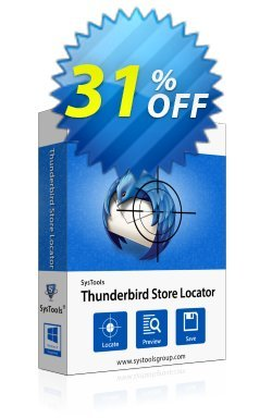 SysTools Thunderbird Store Locator Coupon discount SysTools Summer Sale -