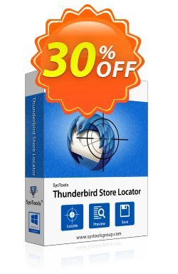 SysTools Thunderbird Store Locator - Business  Coupon discount SysTools coupon 36906. Promotion: