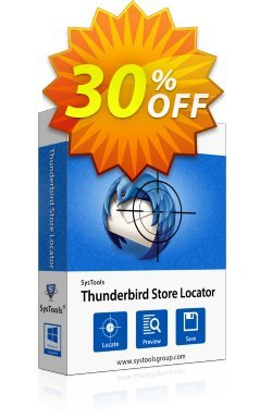 SysTools Thunderbird Store Locator - Enterprise  Coupon discount SysTools coupon 36906 -
