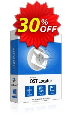 SysTools OST File Locator - Business License  Coupon discount SysTools coupon 36906 -