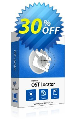 SysTools OST File Locator - Enterprise License  Coupon discount SysTools coupon 36906. Promotion: