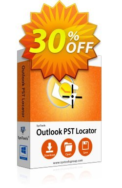 SysTools Outlook PST Locator - Business  Coupon discount SysTools coupon 36906. Promotion:
