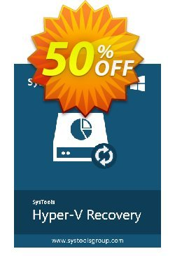 SysTools Hyper-V Recovery - Enterprise  Coupon discount SysTools coupon 36906. Promotion: