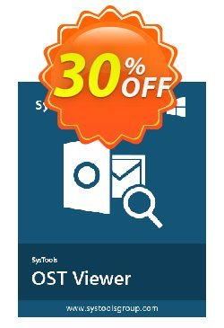SysTools OST Viewer Pro - 50 Users  Coupon discount SysTools coupon 36906 -