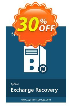 Exchange Recovery - Technician License Coupon, discount SysTools coupon 36906. Promotion: