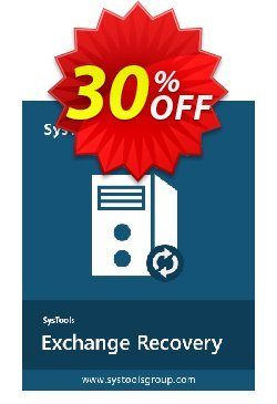 SysTools Exchange Recovery - Technician  Coupon discount SysTools coupon 36906. Promotion: