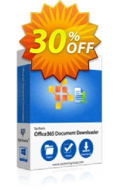 SysTools Office 365 Document Downloader - 1000+ Users  Coupon discount SysTools coupon 36906. Promotion: