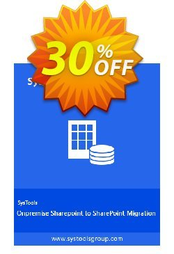 SysTools Onpremise Sharepoint to SharePoint Migration Coupon discount SysTools coupon 36906 -