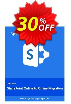SysTools SharePoint Online to SharePoint Online Migration Coupon discount SysTools coupon 36906. Promotion: