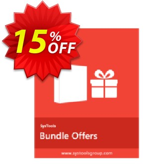 Bundle Offer - PDF Watermark Remover + PDF Watermark + PDF Recovery [Enterprise License] Coupon, discount SysTools coupon 36906. Promotion: