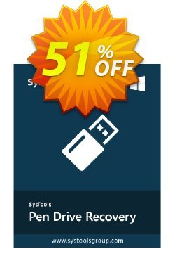 SysTools Pen Drive Recovery Coupon, discount SysTools Pen Drive Recovery hottest offer code 2020. Promotion:
