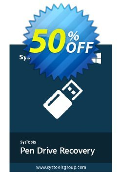 SysTools Pen Drive Recovery -  Business License Coupon, discount SysTools coupon 36906. Promotion: