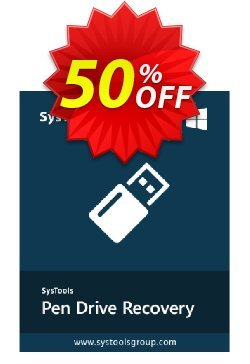 SysTools Pen Drive Recovery - Enterprise License Coupon, discount SysTools coupon 36906. Promotion: