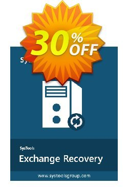 SysTools Exchange Recovery - Enterprise  Coupon discount SysTools coupon 36906. Promotion: SysTools promotion codes 36906