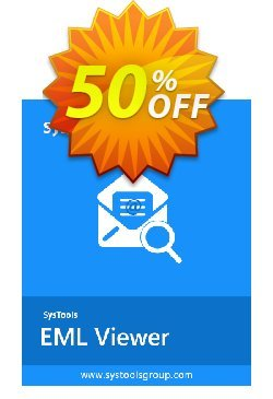 SysTools EML Viewer Pro - 10 Users  Coupon, discount SysTools coupon 36906. Promotion: