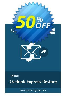 SysTools Outlook Express Restore - Business License  Coupon discount SysTools coupon 36906 -
