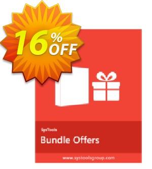 Bundle Offer - PDF Form Filler + PDF Unlocker [Personal License] Coupon, discount SysTools coupon 36906. Promotion: