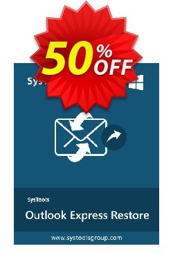 SysTools Outlook Express Restore - Enterprise License  Coupon discount SysTools coupon 36906 -