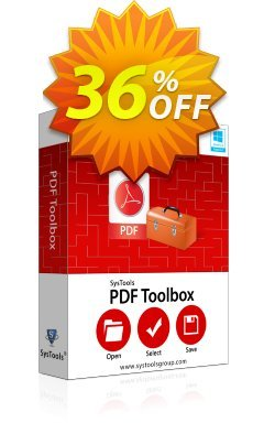 SysTools PDF Toolbox Coupon discount SysTools Summer Sale -