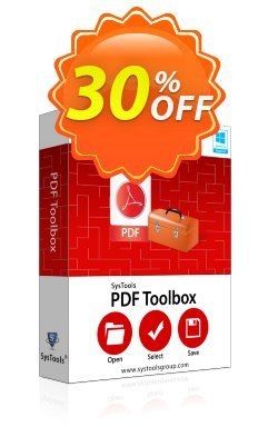 SysTools PDF Toolbox - Business  Coupon discount SysTools coupon 36906 -