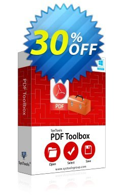 SysTools PDF Toolbox - Enterprise  Coupon discount SysTools coupon 36906. Promotion: