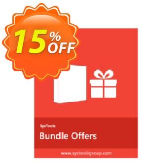 Bundle Offer - PDF Toolbox + PDF Split & Merge + PDF Unlocker [Personal License] Coupon, discount SysTools coupon 36906. Promotion: