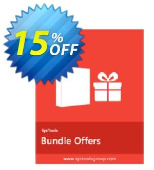 Bundle Offer - PDF Toolbox + PDF Split & Merge + PDF Unlocker [Business License] Coupon, discount SysTools coupon 36906. Promotion: