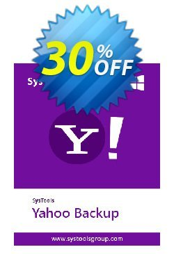 SysTools Yahoo Backup Tool - 100+ Users  Coupon discount SysTools coupon 36906 -