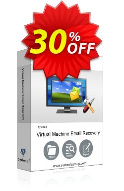 SysTools Virtual Machine Email Recovery - Business  Coupon discount SysTools coupon 36906. Promotion: