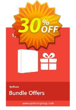 Bundle Offer - Hotmail Backup + Gmail Backup + Yahoo Backup [26 to 50 Users License] Coupon, discount SysTools coupon 36906. Promotion: