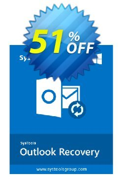 OutlookEmails Outlook Recovery Coupon discount SysTools coupon 36906 - SysTools promotion codes 36906