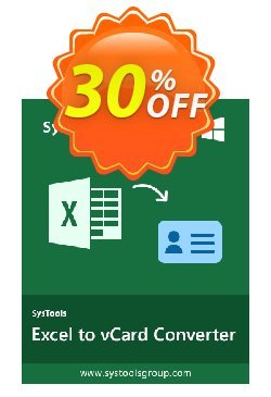 RecoveryTools for MS Excel to vCard Converter - Site  Coupon discount RecoveryTools coupon 36906 - RecoveryTools promotion codes 36906
