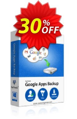Google Apps Backup - 20 Users License Coupon discount SysTools coupon 36906. Promotion: SysTools promotion codes 36906
