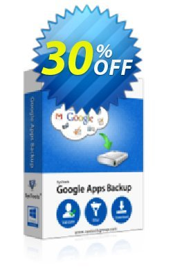 Google Apps Backup - 100 Users License Coupon discount SysTools coupon 36906 - SysTools promotion codes 36906