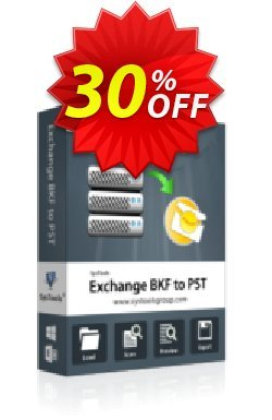 SysTools Exchange BKF to PST - Personal License  Coupon discount SysTools coupon 36906 -