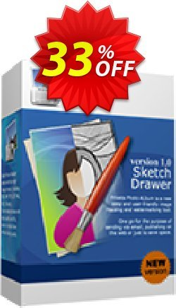 Sketch Drawer Coupon, discount 30% Discount. Promotion: