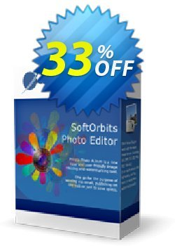 SoftOrbits Simple Photo Editor Coupon, discount 30% Discount. Promotion: impressive promotions code of Simple Photo Editor 2021
