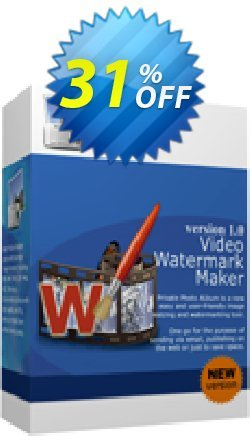 Video Watermark Maker - Business License Coupon, discount 30% Discount. Promotion: stirring promo code of Video Watermark Maker - Business License 2019