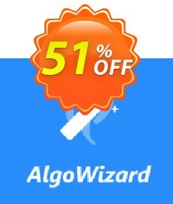AlgoWizard Pro Coupon, discount 50% OFF AlgoWizard, verified. Promotion: Amazing promotions code of AlgoWizard, tested & approved