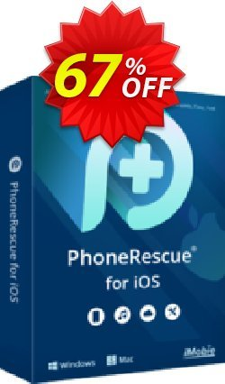 PhoneRescue for Windows - family license Coupon discount PhoneRescue for iOS impressive sales code 2020 - 30OFF Coupon Imobie