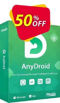 iMobie AnyDroid Family Plan - Lifetime License  Coupon discount 55% OFF AnyDroid Family Plan (Lifetime License), verified - Super discount code of AnyDroid Family Plan (Lifetime License), tested & approved