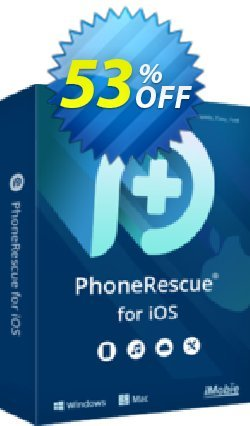 PhoneRescue for iOS - Lifetime License  Coupon discount PhoneRescue for iOS - Lifetime License Imposing sales code 2020 - Imposing sales code of PhoneRescue for iOS - Lifetime License 2020