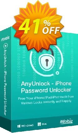 AnyUnlock iPhone Password Unlocker - 3-Month Plan  Coupon, discount AnyUnlock - iPhone Password Unlocker (Windows) 3-Month Plan Imposing discounts code 2021. Promotion: Imposing discounts code of AnyUnlock - iPhone Password Unlocker (Windows) 3-Month Plan 2021