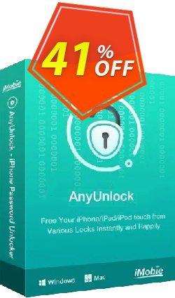 AnyUnlock iPhone Password Unlocker for Mac - 1-Year Plan  Coupon, discount AnyUnlock - iPhone Password Unlocker (Mac) 1-Year Plan Wonderful discount code 2021. Promotion: Wonderful discount code of AnyUnlock - iPhone Password Unlocker (Mac) 1-Year Plan 2021