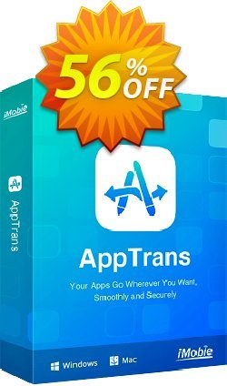 AppTrans for Windows 3-Month Plan Coupon discount 70% OFF AppTrans for Windows 3-Month Plan, verified - Super discount code of AppTrans for Windows 3-Month Plan, tested & approved