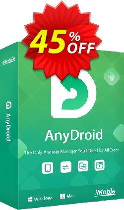 AnyTrans for Android - family license  Coupon discount AnyTrans for Android - family license Excellent deals code 2020. Promotion: staggering deals code of AnyTrans for Android - family license 2020