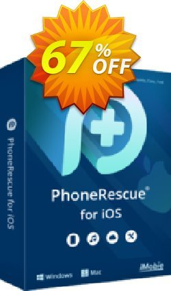 PhoneRescue for iOS - family license Coupon, discount PhoneRescue for iOS impressive sales code 2020. Promotion: stunning discount code of PhoneRescue for iOS 2020